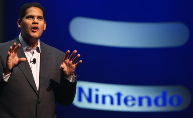 Reggie will still be able to take names through the internet, though