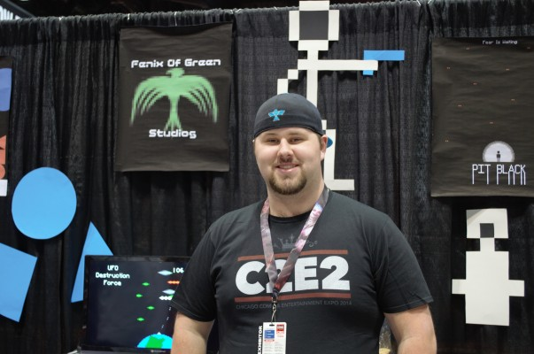 Fenix Of Green's Ethan Dillon at C2E2