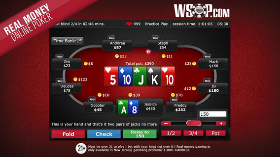 WSOP Real Money Poker App for iOS Review - That VideoGame Blog