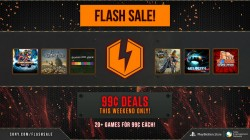 Flash Sale! 20+ games for $0.99 each, this weekend only!