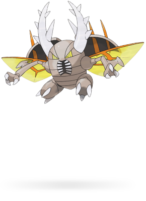 Here is the terrifying Mega Pinsir.