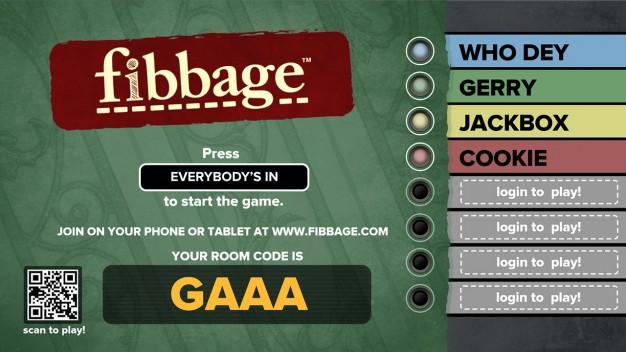 Fibbage Start
