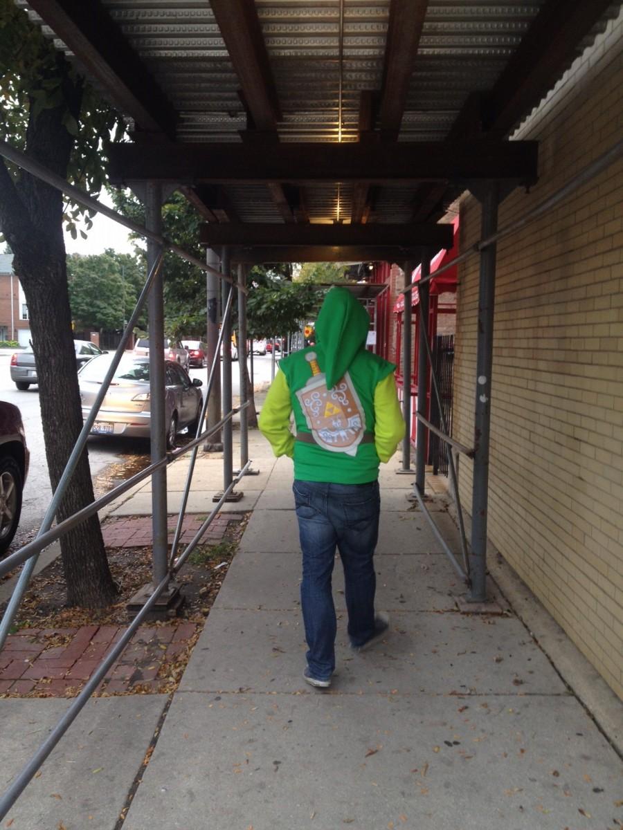 Nintendo Link hoodie Cody 1