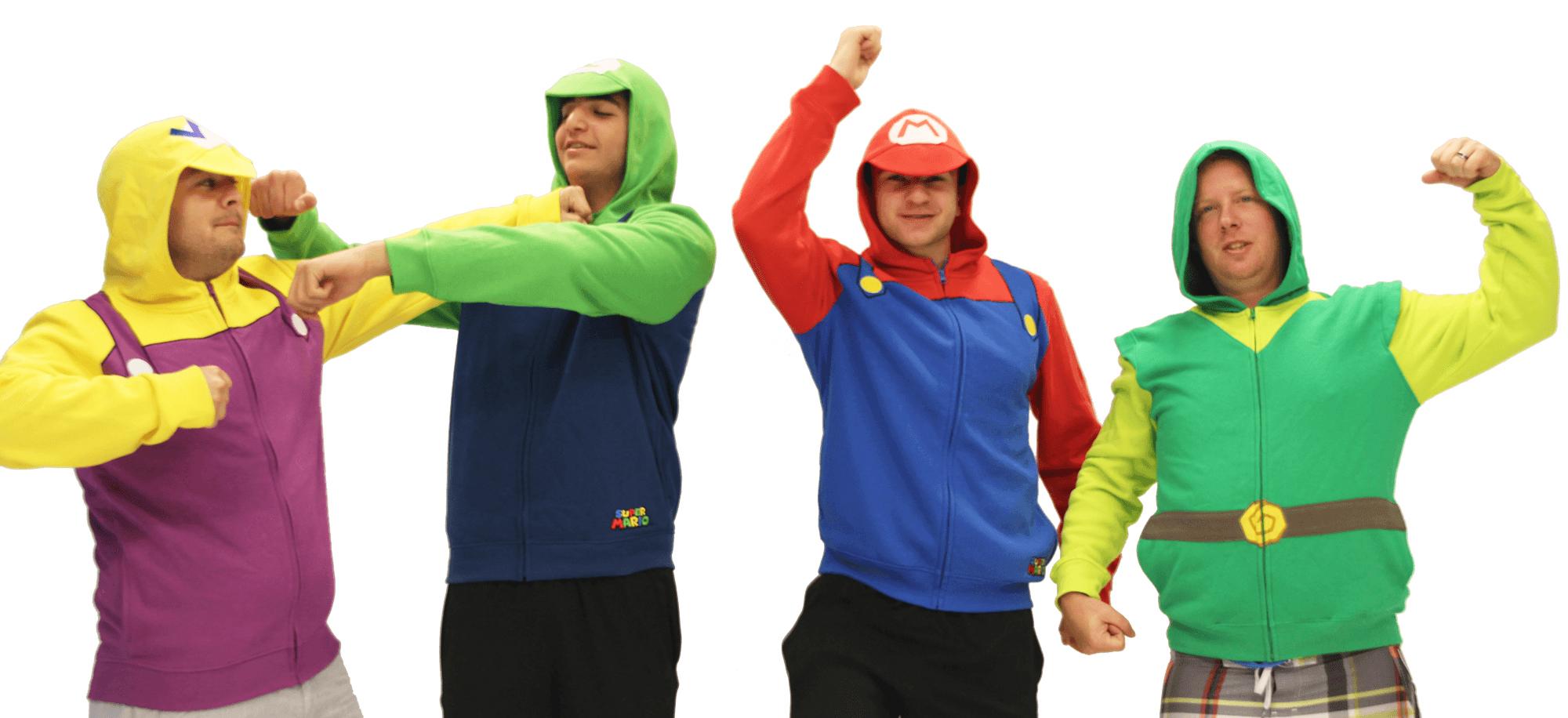 Mario Hoodie Group 3