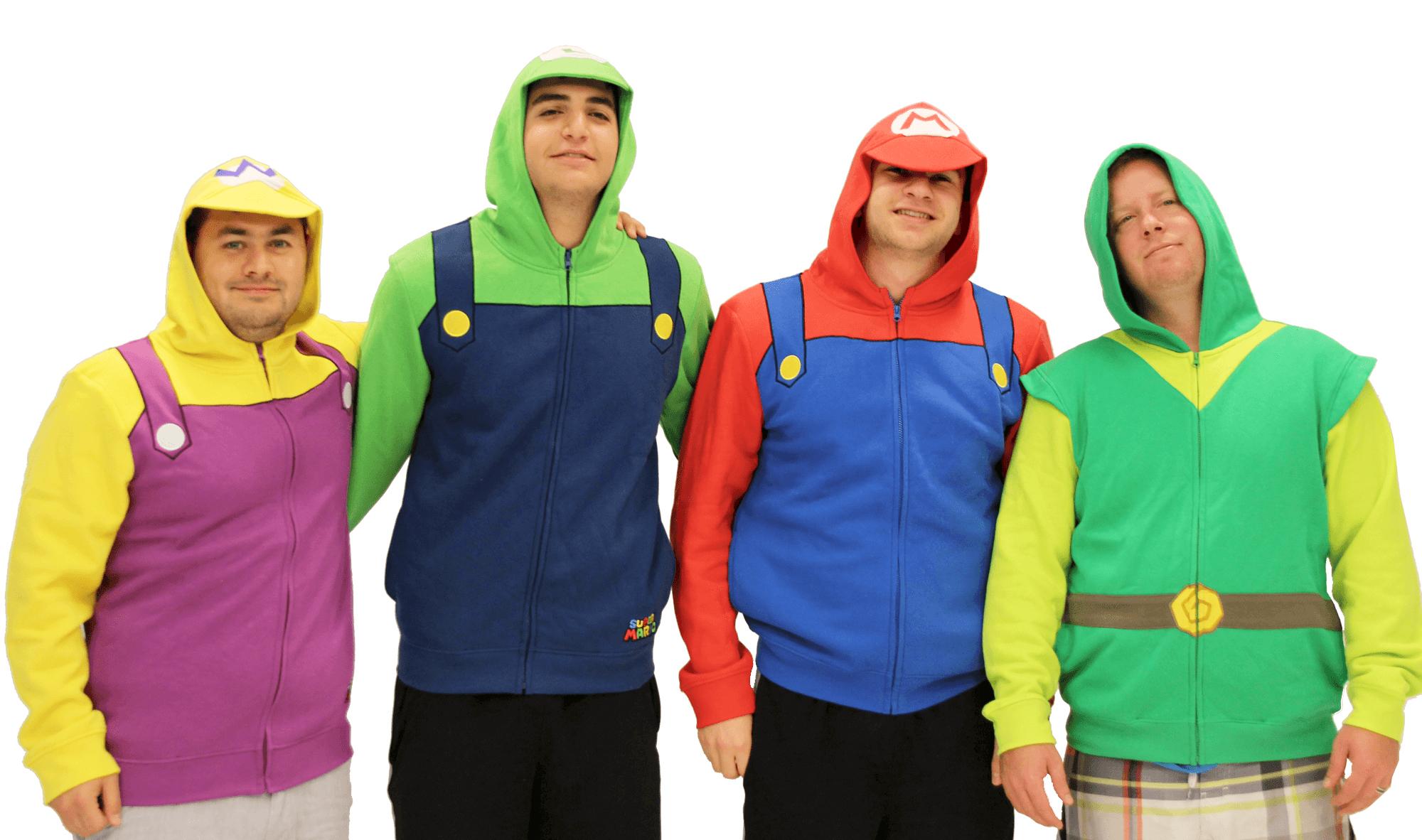 Mario Hoodie Group 5
