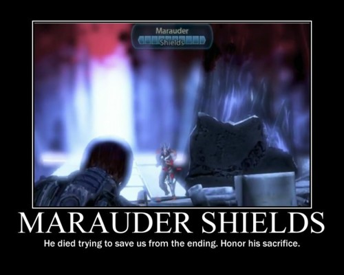 Mass Effect 3 marauder shields