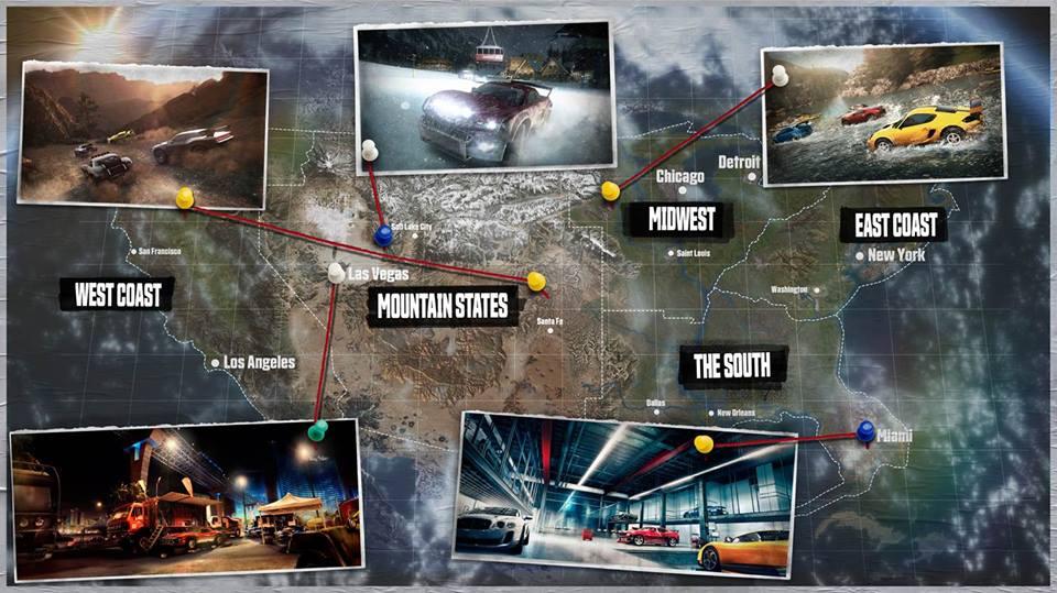 Crew Map