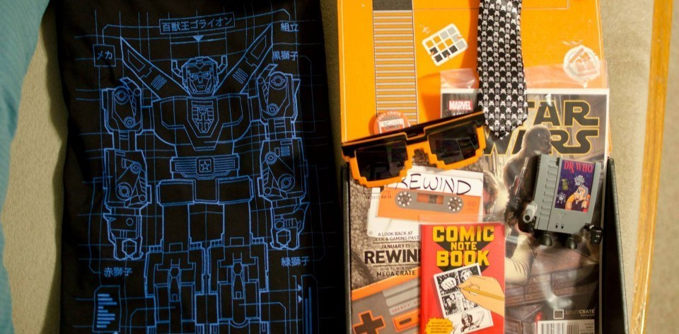 loot crate january 2015