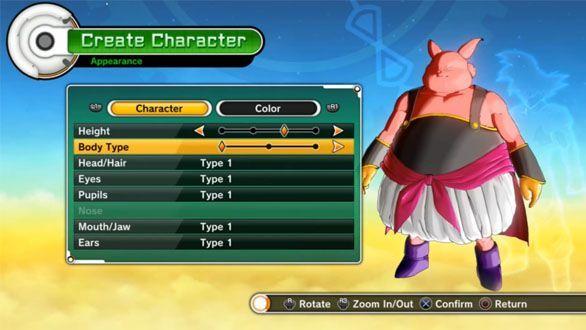 DragonBallXV-CharacterDesign