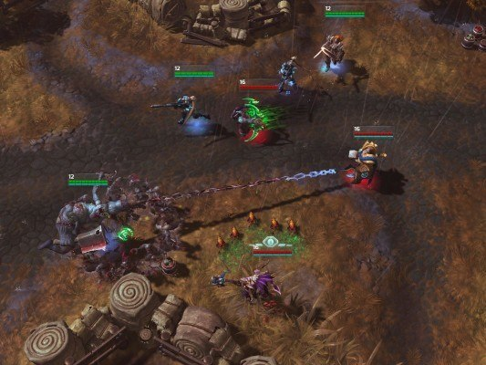 HotS in-game screenshot