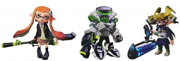 Amiibo-splatoon-gear-and-weapons