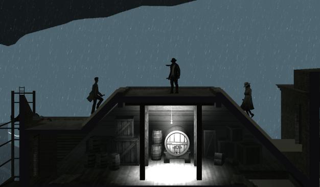 Cinematic Grab: Roof of Distillery