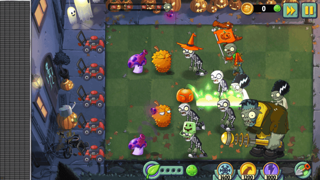 Plants vs Zombies 2 Halloween