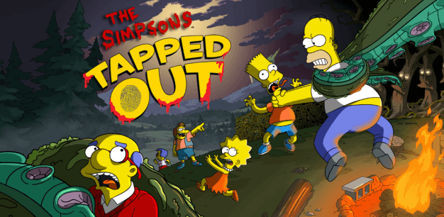 Simpsons Tapped Out Halloween