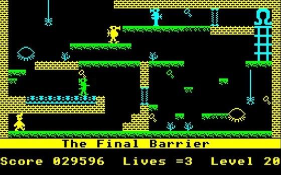 1983 Golden Joystick Winner: Manic Miner