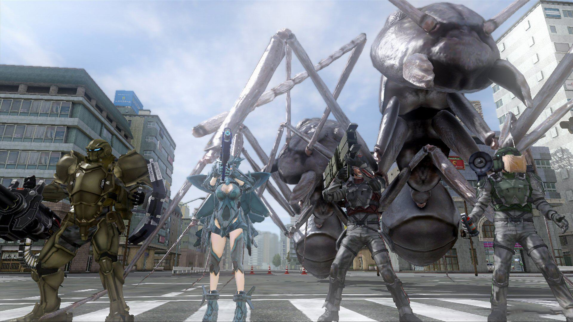 Earth defense force 2 portable review