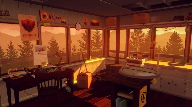 The last couple games I've played and loved — Until Dawn and Oxenfree - both had towers in them. What does Firewatch have? A tower. 'Nuff said.