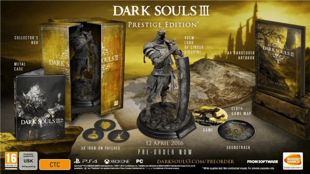 DarkSoulsIII Prestige Edition