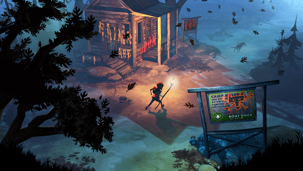 The Flame in the Flood - Scout Camp