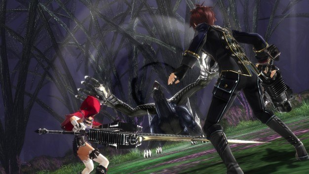 God Eater 2 Rage Burst