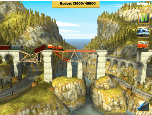 Example of masterful bridge construction