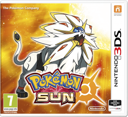 Pokemon Sun Cover