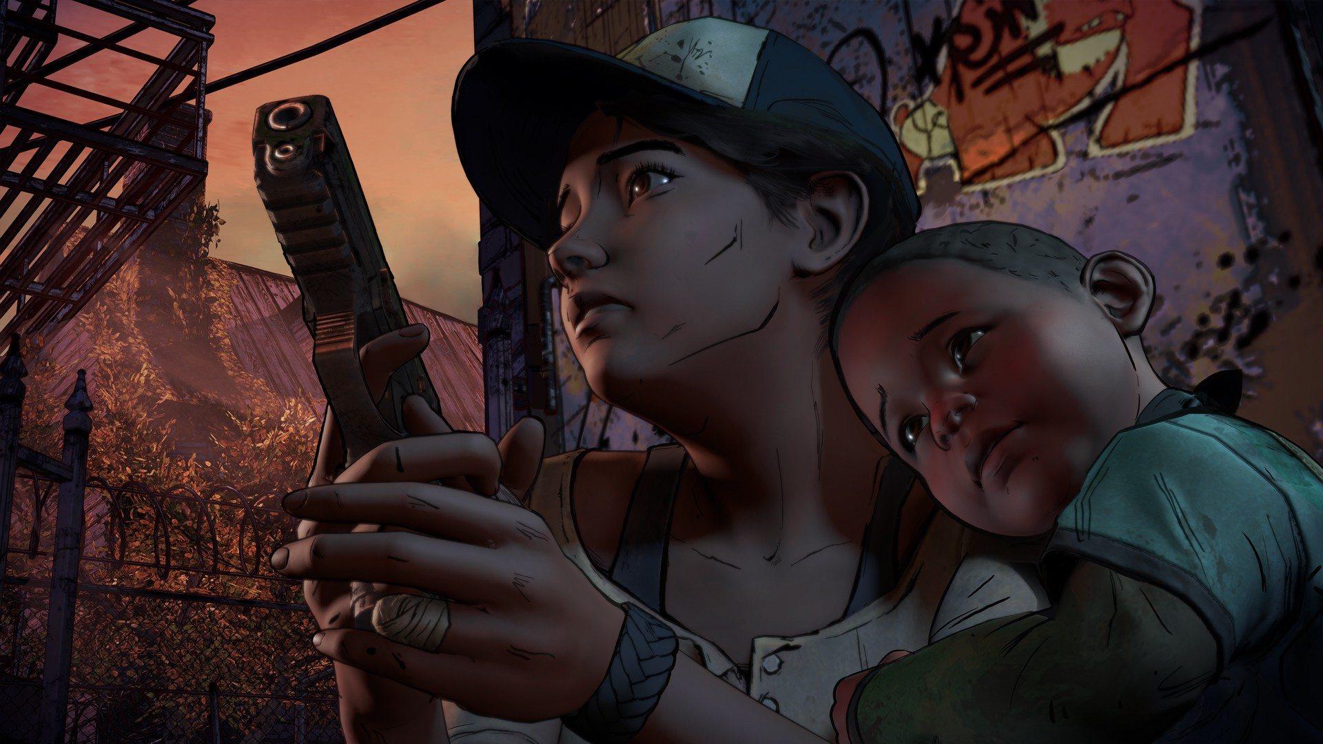 Walking Dead, AJ, Clem