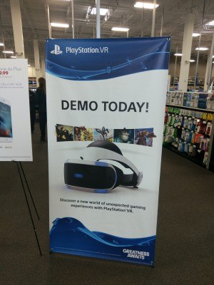 PlayStationVR at Best Buy 2
