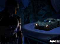 telltale batman with batmobile