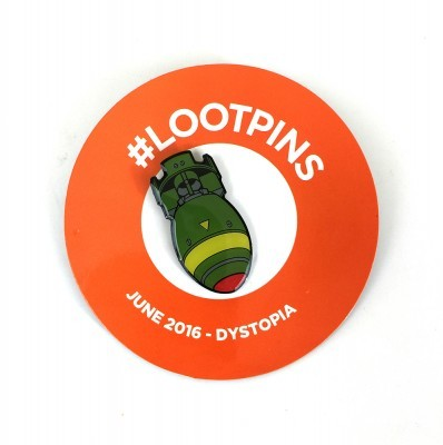 LootCrate-June-Dystopia-Pin-Falllout4-TheBomb