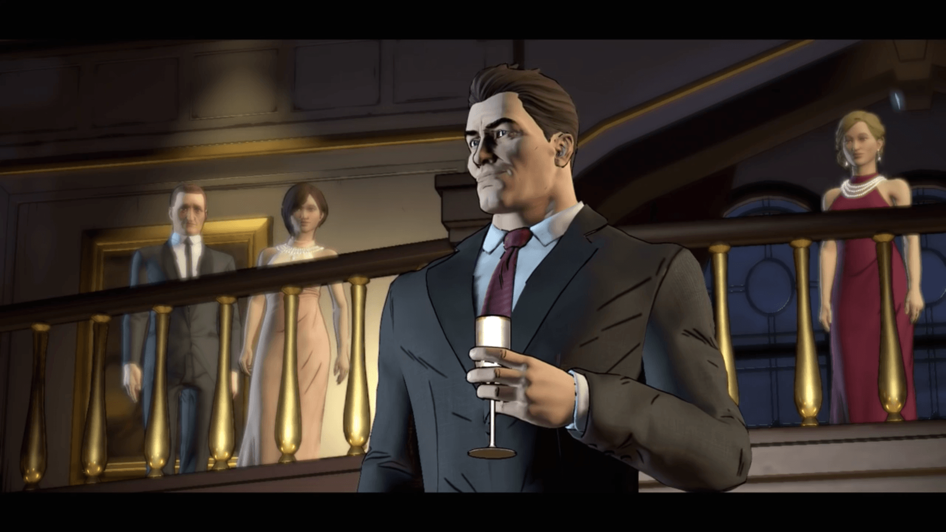 Harvey Dent, Batman, Telltale, Realm of Shadows