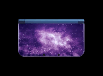 3ds xl, galaxy, new, nintendo