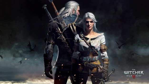 Hey Geralt, if you are looking for Ciri, she is right behind you