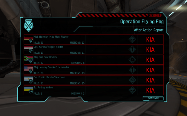 Ok, maybe I'm just bad at Xcom