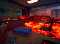 Scene From Hot Lava School Level