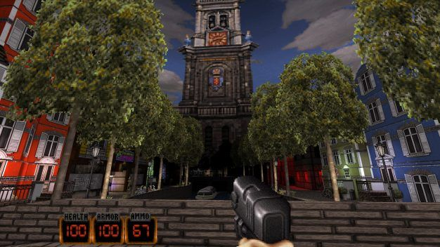 Now why on earth would Duke Nukem ever visit Amsterdam?