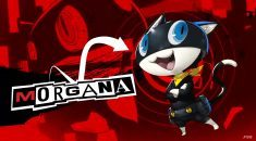Get up close and purrsonal with Persona 5's mascot, Morgana