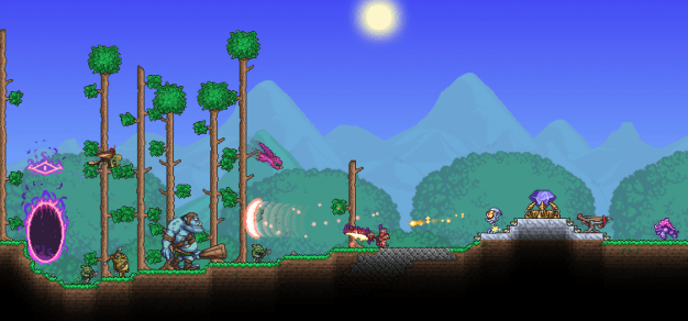 Dungeon Defenders II Terraria Crossover