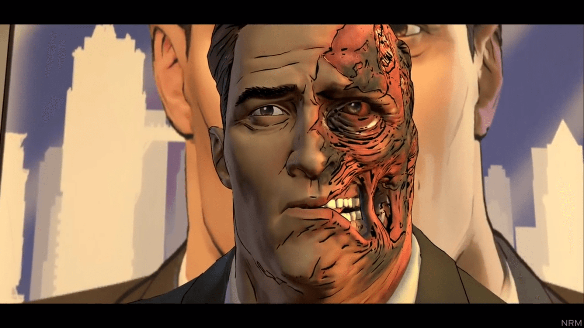 The new Harvey Dent, multiple personalities and all