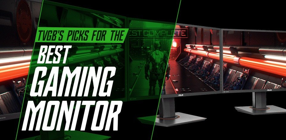 best gaming monitor header image