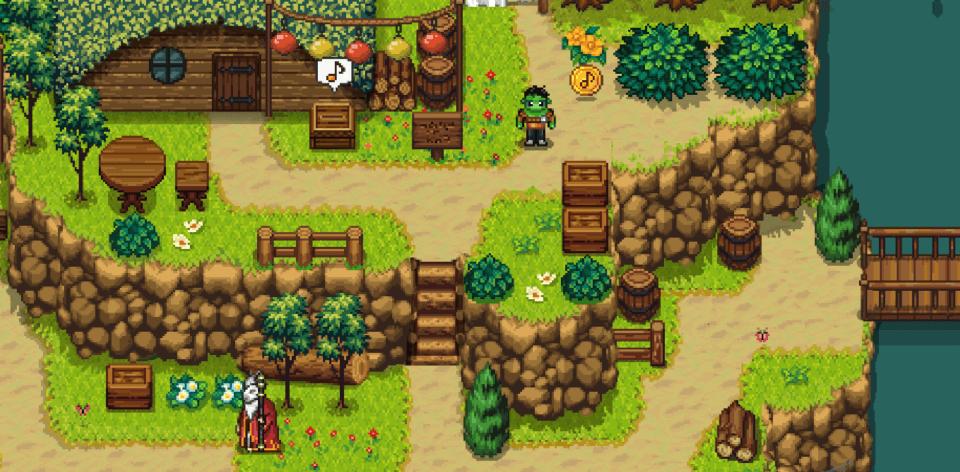 Green Heart Village Screen