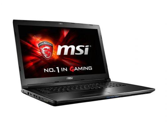 02 great bang for the buck 17-inch gaming laptop MSI GL72 6QF-405