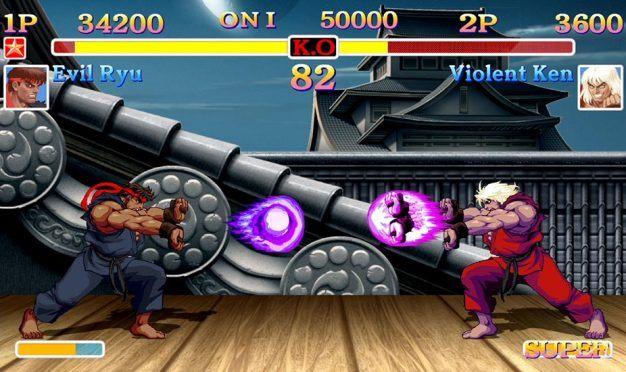 Evil Ryu Violent Ken