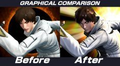 The King of Fighters XIV receives a major graphics update in the latest patch