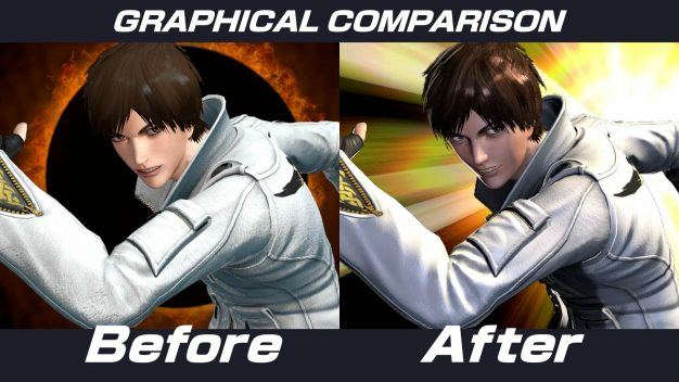 King of Fighters graphics update