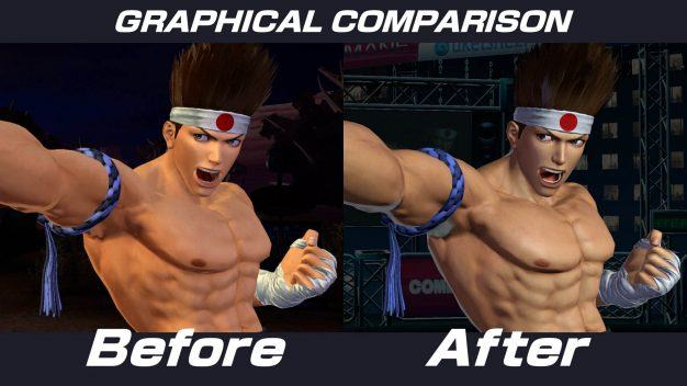 King of Fighters graphics update 3