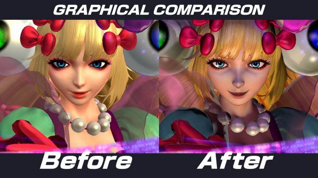 King of Fighters graphics update 2