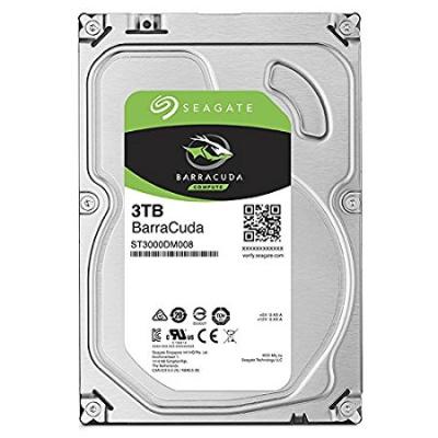 02 Loads of storage Seagate 3TB BarraCuda SATA 6Gbs 64MB Cache 3.5-Inch Internal Hard Drive