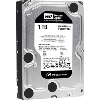03 Professional grade, yet bargain-priced WD Black 2TB Performance Desktop Hard Disk Drive - 7200 RPM SATA 6 Gbs 64MB Cache 3.5 Inch