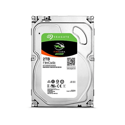 04 Best hybrid hard drive for gaming Seagate 2TB FireCuda 3.5-Inch SATA 6Gbs 7200-RPM 64 Cache Gaming SSHD